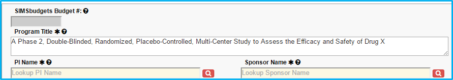 A screenshot of Penn State College of Medicine's IAF system shows a sample basic science program title, A Phase 2, Double-Blinded, Randomized, Placebo-Controlled, Multi-Center Study to Assess the Efficacy and Safety of Drug X.