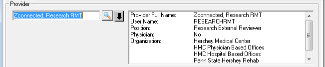 A screenshot shows a step in the Cerner Relationship Management Tool relationship-adding process. A box divided into two parts is shown.